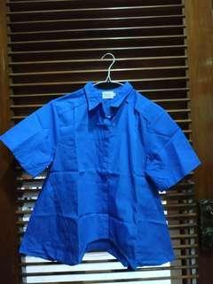 #kemejalama Blue Shirt