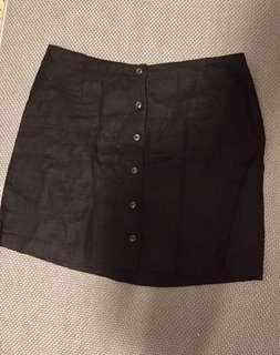 Glassons linen skirt black