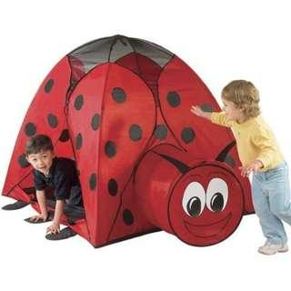 珍寶型蟲蟲帳蓬 Jumbo Ladybug Play Tent 084358044381