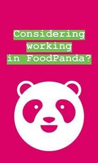 High paying foodpanda rider/cyclist/pmd needed