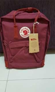Instock brand new kanken full maroon red bag /backpack,  classic size