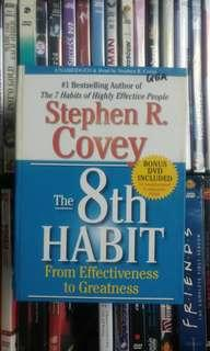 Stephen Covey audio book + DVD