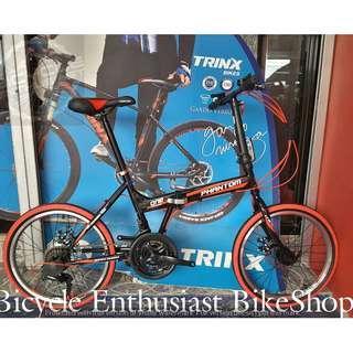 2019 Phantom One 3.0 Series Folding Bike *STEEL* Powered by Trinx Phantom Bicycle Cycling