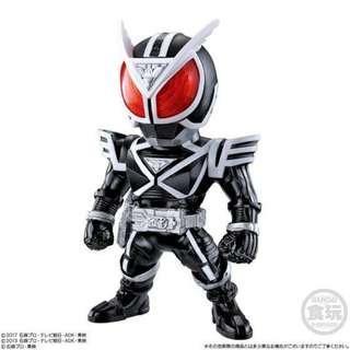 全新未開 Q 版 Converge Kamen Rider Part 12 No 69 Delta 幪面超人 拉打 食玩 盒蛋 1 盒