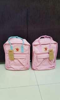 Instock brand new kanken pink school bag/backpack classic size