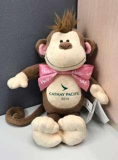 Cathay Pacific monkey