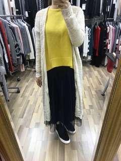 Brand new Linen cotton knitted top 全新麻棉質冷衫上衣