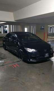 Type R Front bumper for Honda FD