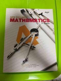 New Syllabus Mathematics 7th Edition Secondary 4 7th Edition