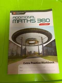Additional Maths 360 Extra Practice Workbook