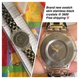 Swatch stainless