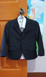 Preloved Black Suit for toddlers