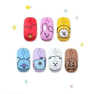 [PO] BT21 wireless silent mouse