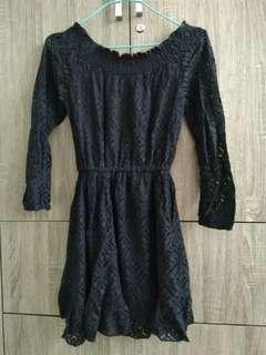 Black Lace Dress  #MMAR18