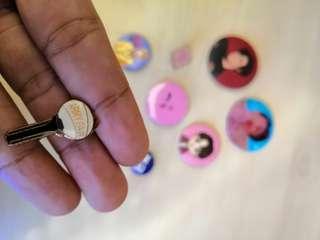 BTS ARMY Fair Enamel Pin