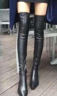 過膝長靴 long boots