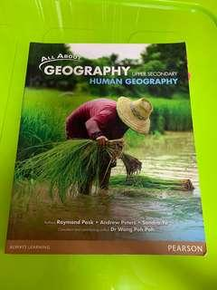 Upper Secondary Human Geography All About Geography Textbook
