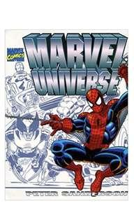 Marvel Universe Hardcover by Peter Sanderson