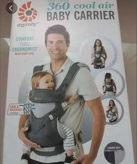 Ergobaby 360 cool mesh Carrier (infant insert included)