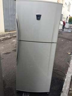 FRIDGE DOUBLE DOOR SHARP Refrigerator Peti Sejuk Ais Freezer