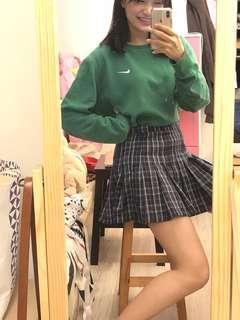 🚚 裝嫩妹格子短裙
