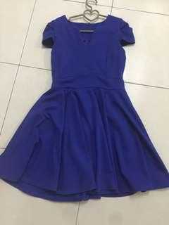 Blue Dress doublewoot divalicious m size