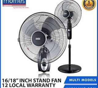 FREE DELIVERY!! Morris Standing Fan / Stand Fan / Air Purifier / Desk Fan / Air Con