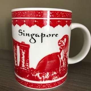 Singapore attractions mug