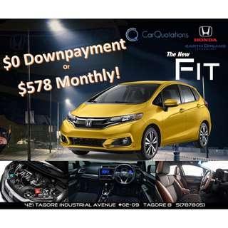 (NEW) Honda Fit G 2018