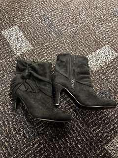 黑色boot