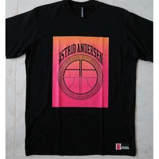 🚚 Astrid Anderson Logo Print Oversize T-Shirt