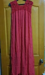 Preloved Red Maxi Dress