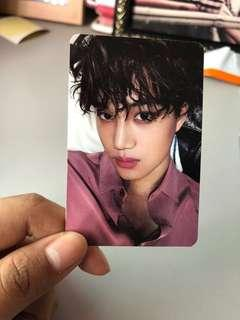 Kai Sing For You Official Photocard