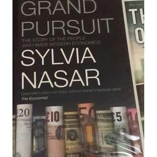 Grand Pursuit: The Story of the People who Made Modern Economics by Sylvia Nasar