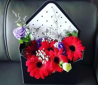 Floral Envelope | Flower Bouquet