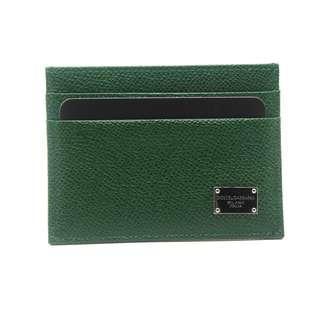 Dolce & Gabbana Card Holder (Green)