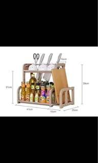 廚房調味料置物收納架