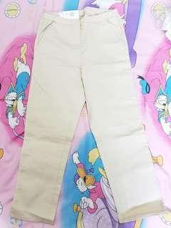 Uniqlo Light brown khaki Long Pants
