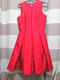 Red Cocktail Debut Graduation Prom Formal Dress