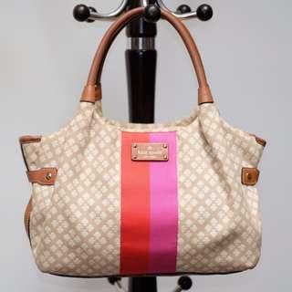 Kate Spade Shoulder Bag Light Brown Original Second