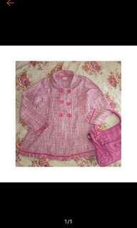 Blazer jaket wool tweed
