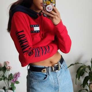 NEW Sold Out Tommy Jeans Cropped Hoodie