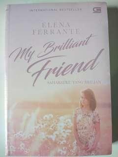 My Brilliant Friend by Elena Ferrante.