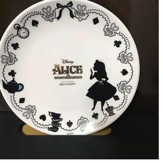 現貨 愛麗絲 水果盤 菜盤 盤子 點心盤 兔子 柴郡貓