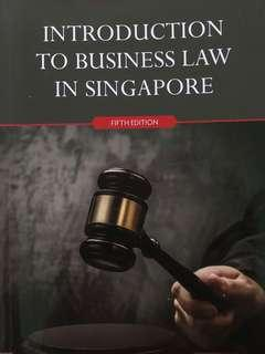 BSP1702: Introduction to Business Law in Singapore