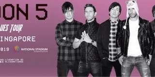 Maroon 5 Concert in Singapore