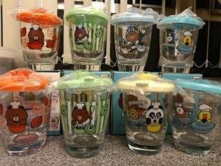 7-11 玻璃杯共8隻