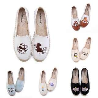 996f337645 Disney Characters And Snoopy Fisherman Shoes