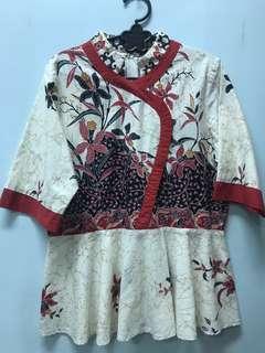 Oriental Red Batik