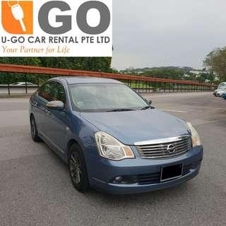NISSAN SYLPHY 1.5 Auto CAR FOR RENT/ GRAB / GOJEK/ TADA / PERSONAL USEAGE